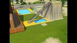 Урок Строительства горки в бассейне THE SIMS 3
