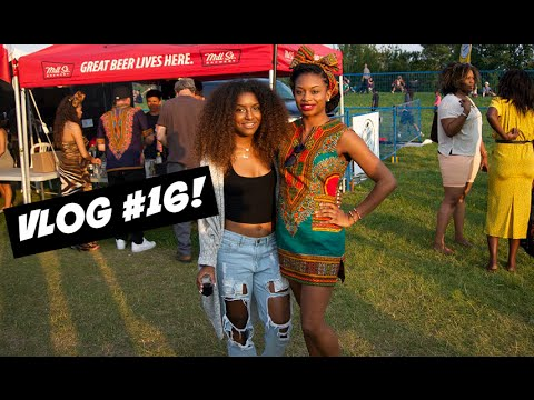 VLOG#16: Style Haul Party, Dave & Busters, Afro Fest!
