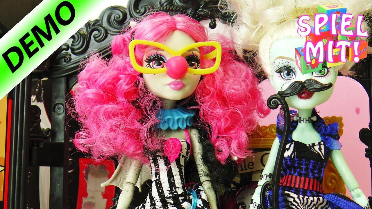 Monster High Monster Manege - Verkleidungs Fotoshooting mit Rochelle ...