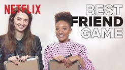 The Best Friend Game with Sex Education's Tanya Reynolds and Patricia Allison | Netflix