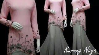 Baju Model Terbaru 2014 Baju Muslim Baju Kurung Moden