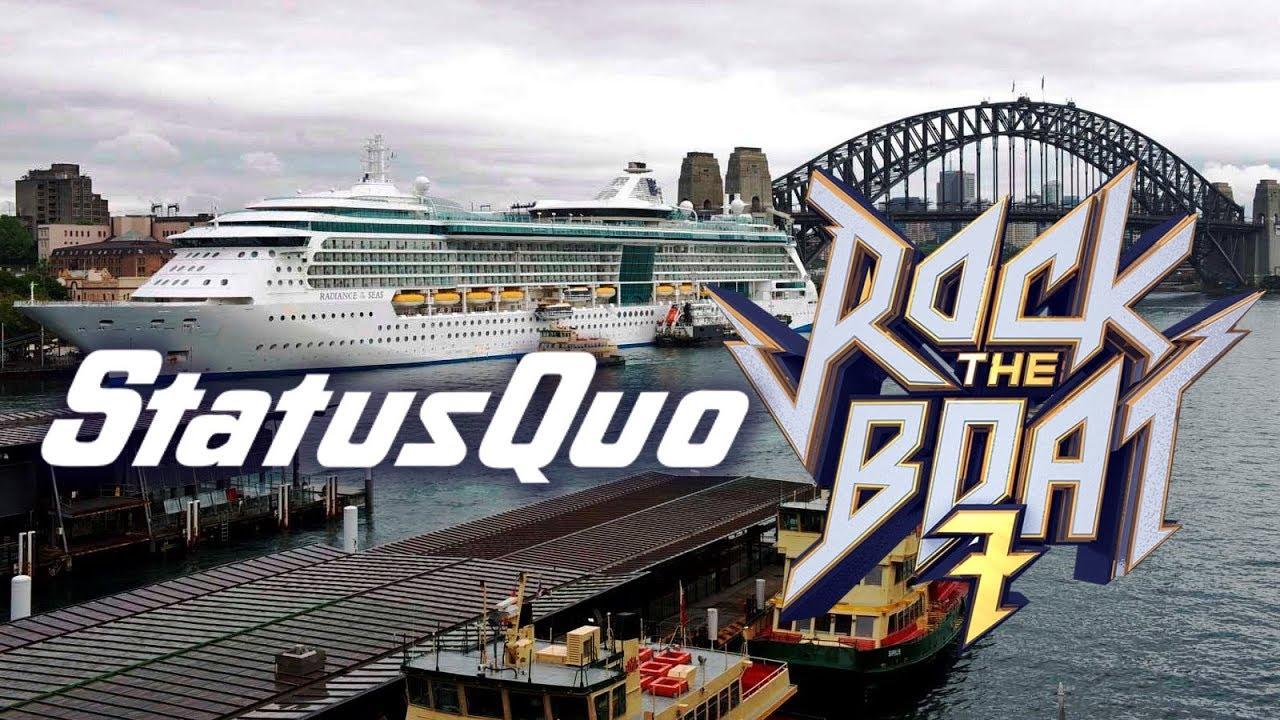 STATUS QUO ROCK BOAT CRUISE YouTube - Rocking cruise ship