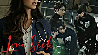 Jungkook fiction | Love Sick | 𝑹𝒂𝒄𝒆𝒓 𝒇𝒂𝒍𝒍 𝒊𝒏𝒍𝒐𝒗𝒆 𝒘𝒊𝒕𝒉 𝒂 𝑫𝒐𝒄𝒕𝒐𝒓