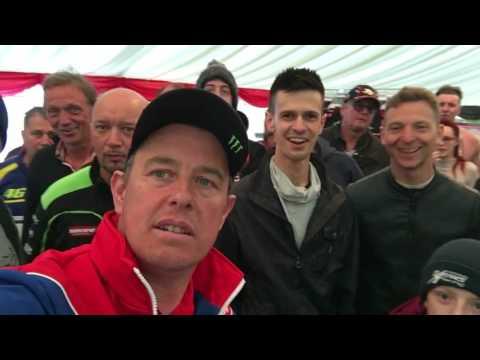 John McGuinness shows off his TT collection | Interviews | Motorcyclenews.com
