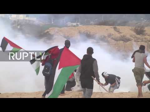 State of Palestine: 14 injured as Palestinian fleet tries to break Israeli naval blockade in Gaza