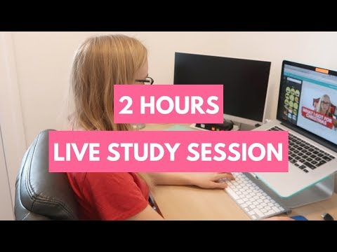 Study With Me - Live Study Session #188