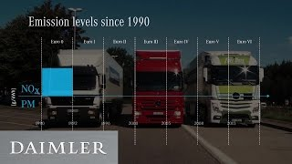 DEKRA certified test drive  Independent test with Mercedes Benz Trucks