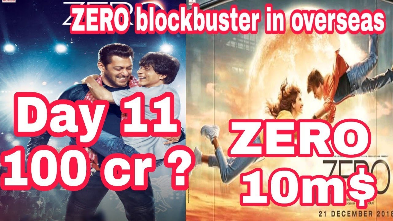 Zero Box Office Collection Zero Makes New Record In Overseas Srk