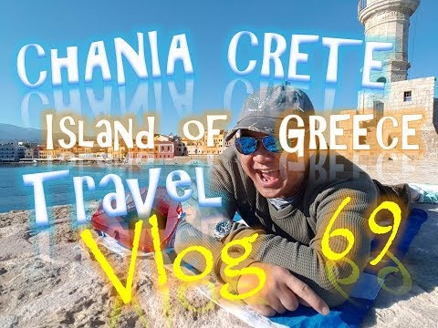 Chania Crete Island of Greece Travel Vlog69