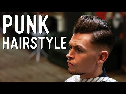 Haircut Tutorial - Punk Style Pompadour