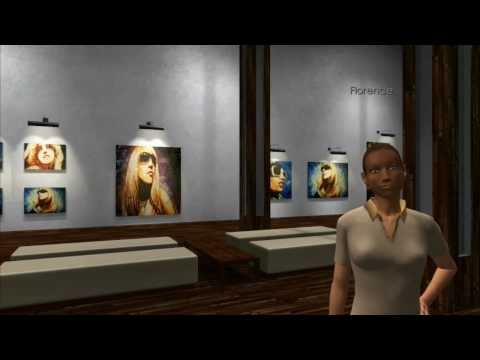 3D Chat Online MMO Virtual Game - Art Gallery - Www.3dchat.com