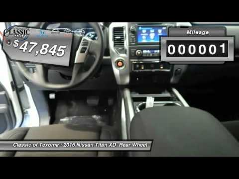 2016 Nissan Titan XD Denison Sherman Durant GN507357