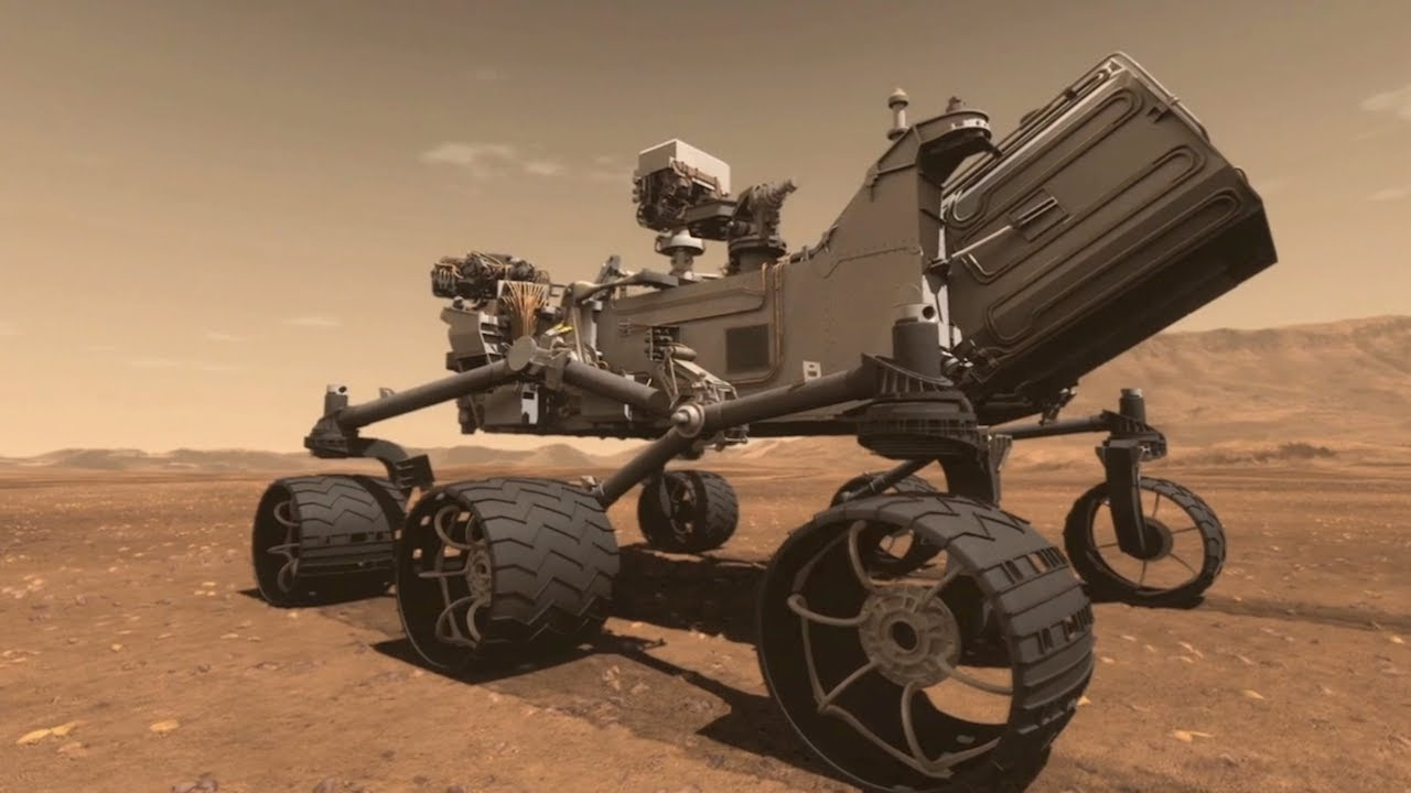 curiosity rover size comparison - photo #9