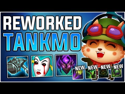 *REWORKED TEEMO* Tank Teemo still viable? TANKMO is BACK!! - PBE Teemo Gameplay