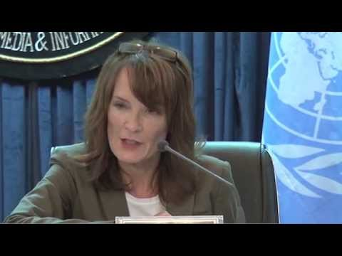 AFGHAN CIVILIANS KILLED or INJURED UP by 23 PERCENT: UNAMA's GEORGETTE GAGNON