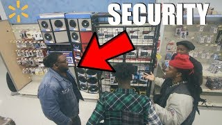 TRYING TO GET KICKED OUT OF WALMART 3 !!! **COPS CALLED**