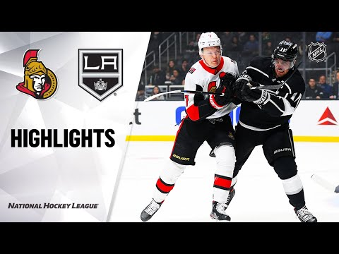 NHL Highlights   Senators @ Kings 3/11/20