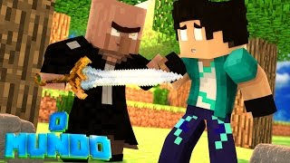 Minecraft Mundo - O GUERREIRO APARECE !!! #06