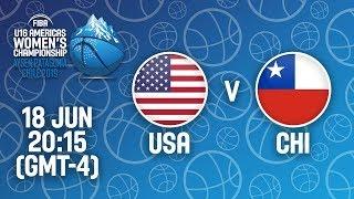 LIVE - USA v Chile - FIBA U16 Women's Americas Championship 2019