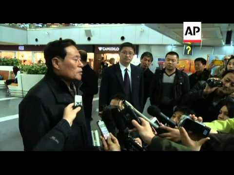 North Korean envoy in Beijing after meeting US officials for 'honest' talks