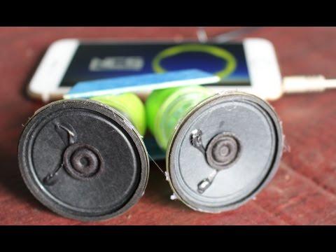 Cara membuat speaker smartphone