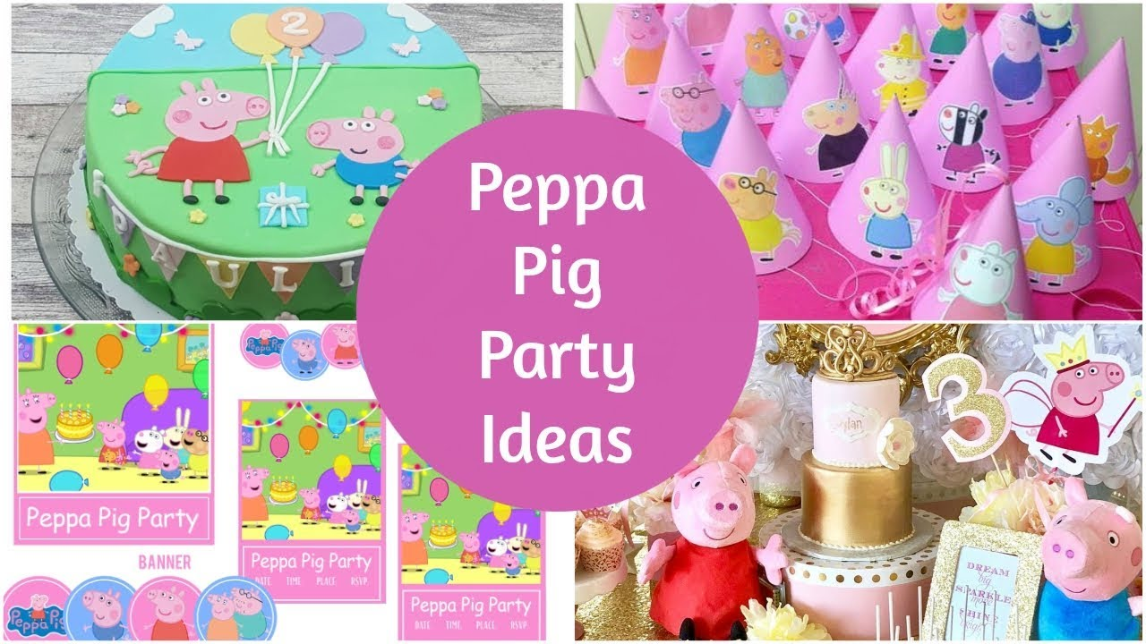 Perfect Peppa Pig Party Ideas