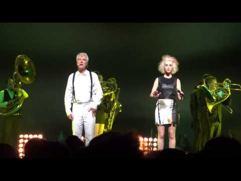 David Byrne and St. Vincent @ Fox:
