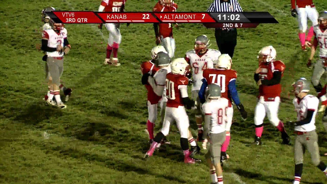 2013 Football: Kanab at Altamont