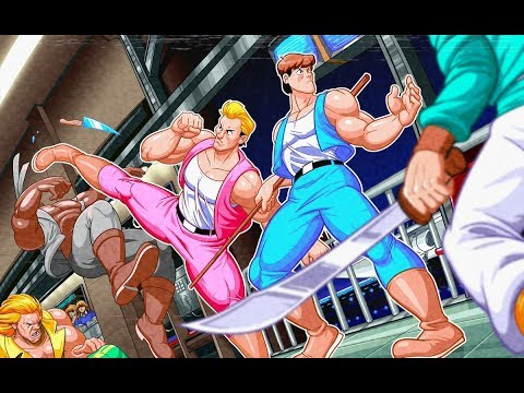 Legend Of The Double Dragon Ver 1.5 BBE - Playthrough (Openbor)