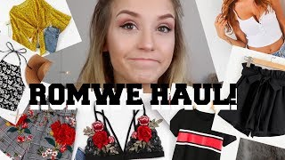 ROMWE HAUL 2018 | IS IT A SCAM?!?