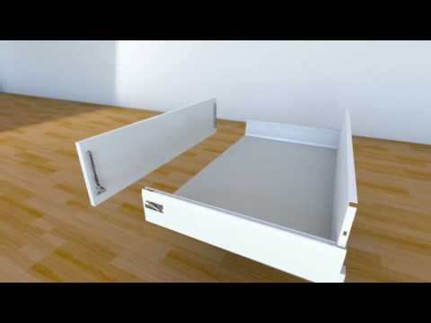 Blum Intivo The New Fully Customisable Drawers  From HPP