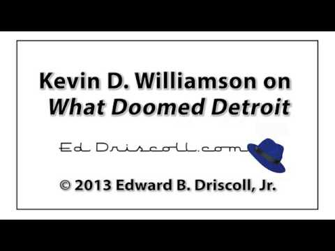 Audio Interview: Kevin D. Williamson on 'What Doomed Detroit'