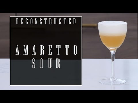 Reconstructed: Amaretto Sour