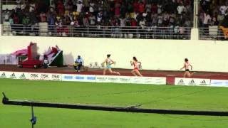 asian athletics championships women 4x400mR final