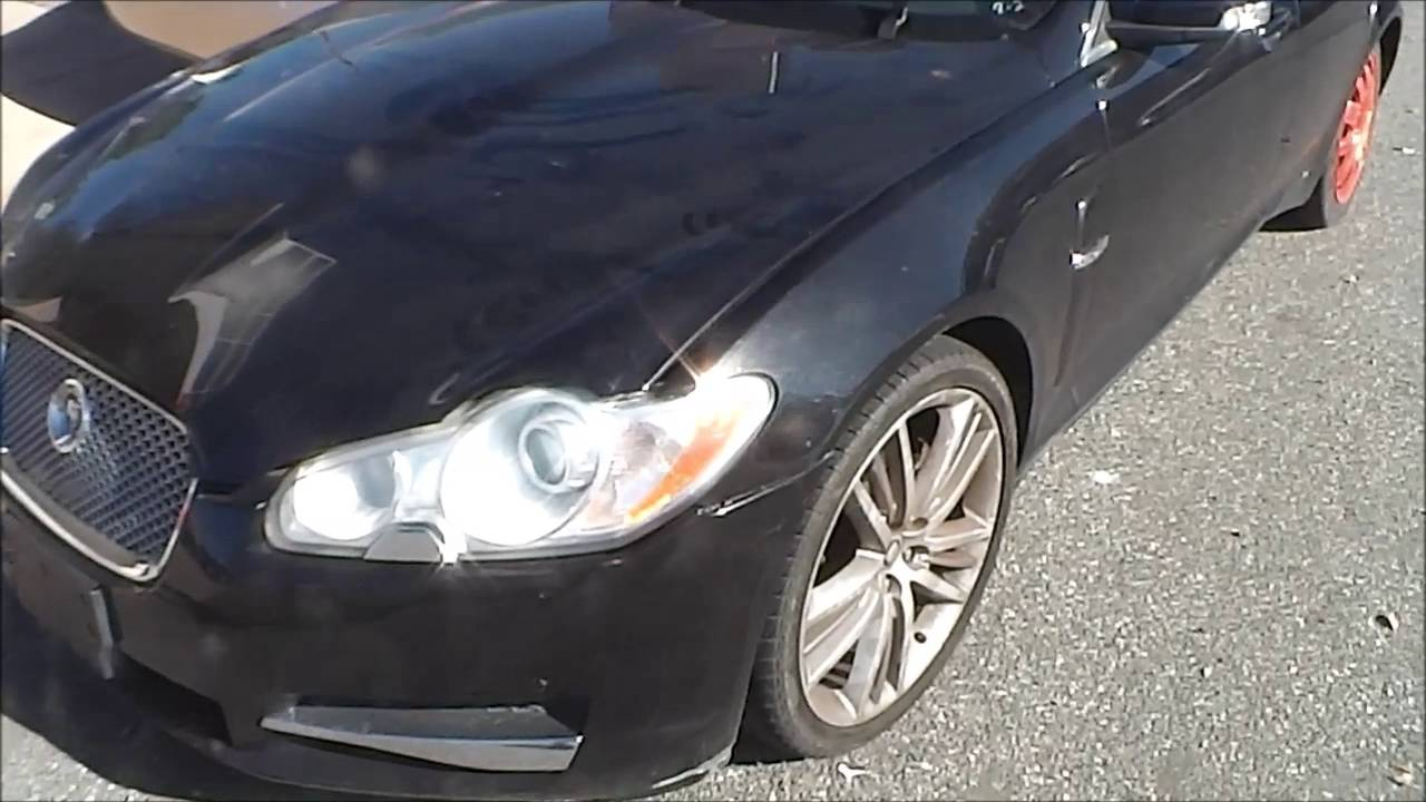 Jaguar Xf How To Jump And Open Trunk When Battery Dead