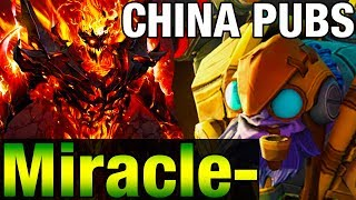 Miracle- 9223MMR Shadow Fiend and Tinker - China PUBS - Ranked Match Dota 2