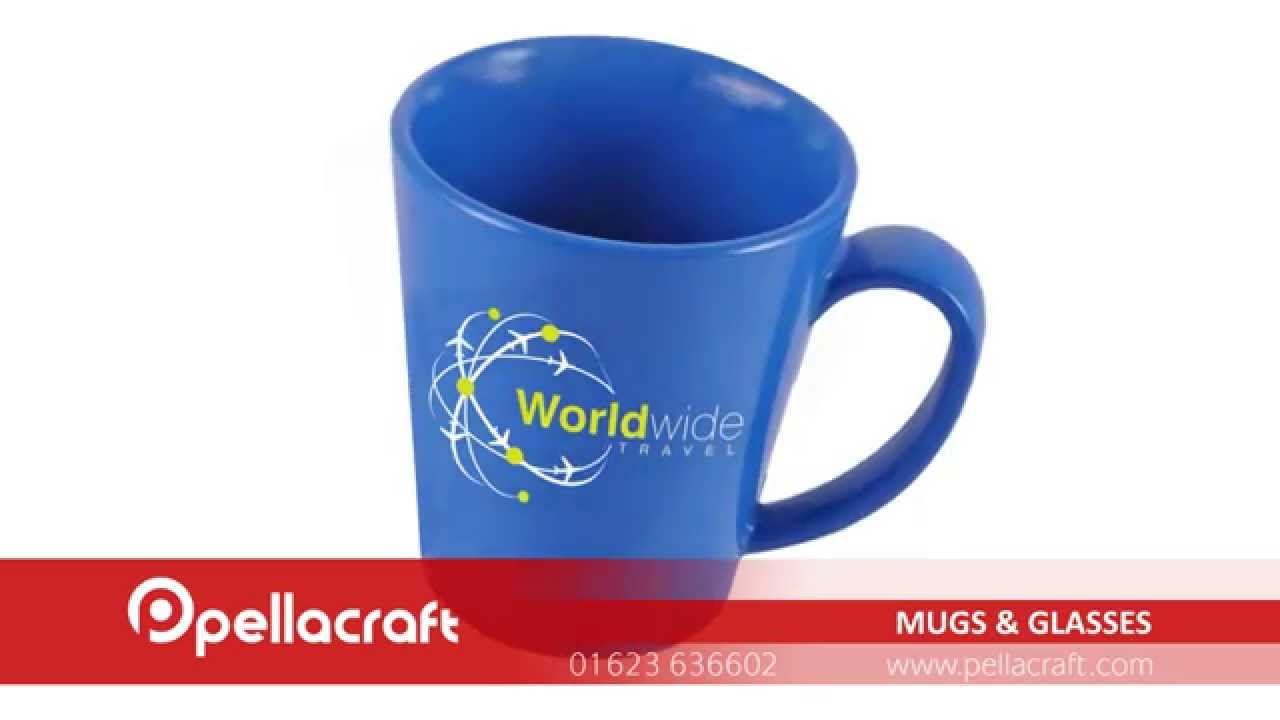 Promotional Printed Mugs & Glasses - Cost Effective Advertising