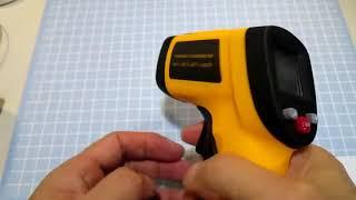 アマゾンタイトル 赤外線放射温度計 COZYSWAN 温度測定器 非接触温度計 ...