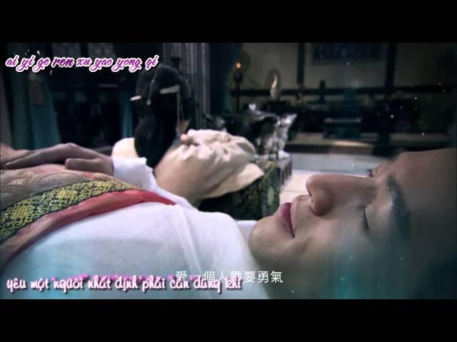 [Vietsub-Kara][MV] Có m?t th? d?ng khí g?i là t? b? - ?inh ?ang (OST K? duyên trong gió)