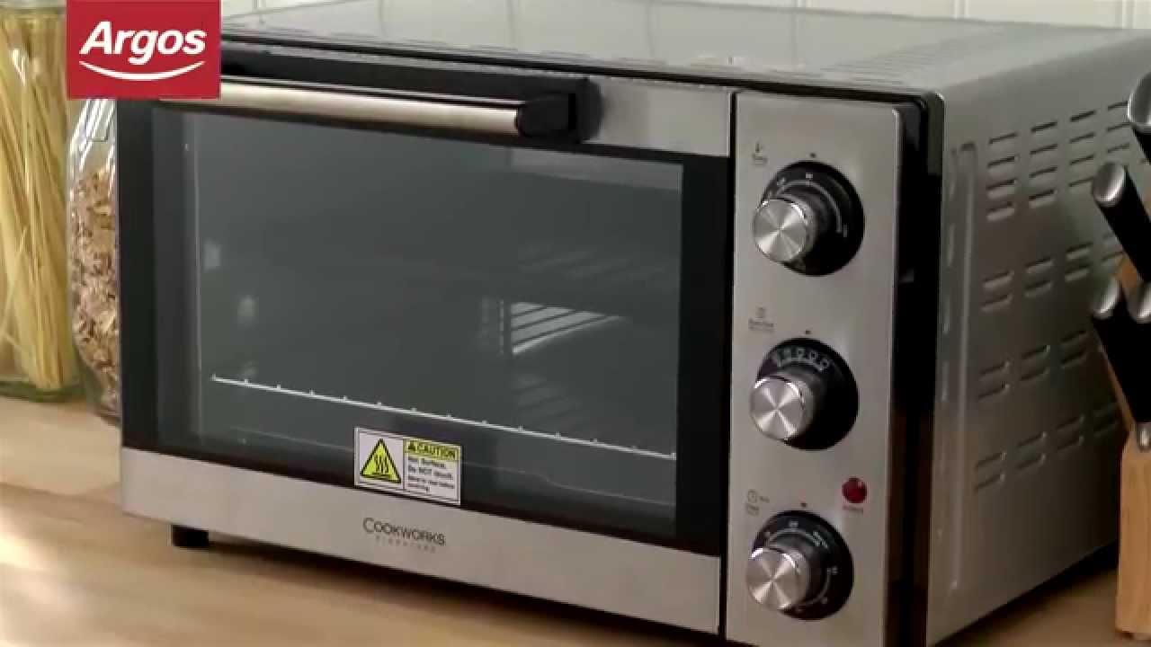 cookworks kws1525r f2u stainless steel mini oven   argos review   youtube cookworks kws1525r f2u stainless steel mini oven   argos review      rh   youtube com