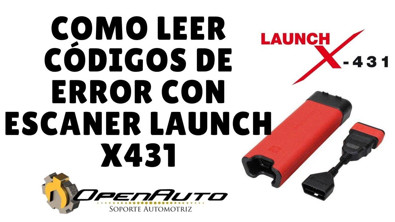 COMO LEER CODIGOS DE ERROR CON ESCANER LAUNCH X431 CHEVROLET ...