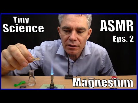 Tiny Science ASMR Episode 2 || Magnesium Experiments || Make Science Fun