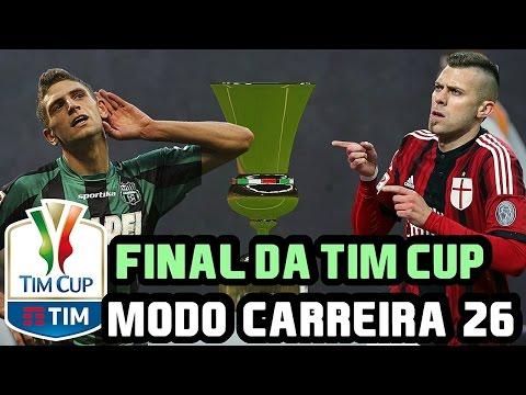 FIFA 16 MODO CARREIRA - A GRANDE FINAL DA TIM CUP #26 - TEMPORADA 3