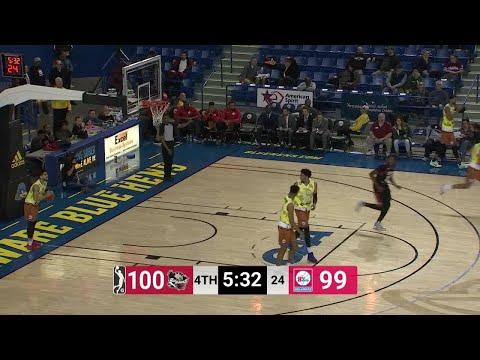 Jeremy Evans Posts 18 points & 10 rebounds vs. Delaware 87ers