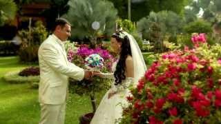 Свадебная церемония в Европейском стиле, остров Пхукет, Таиланд 2013.