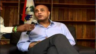 THE LATEST  MICHEL MARTELLY INTERVIEW WITH PDG OF TELE DIASPORA   2011  PART 3