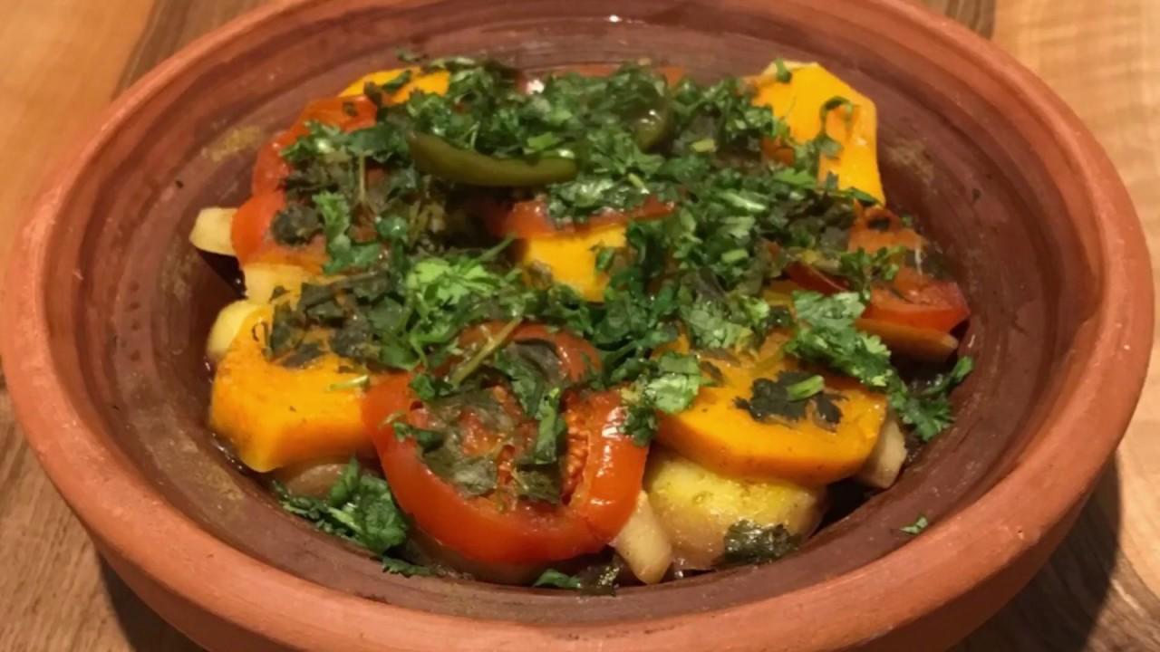 Moroccan vegetarian / vegan tagine