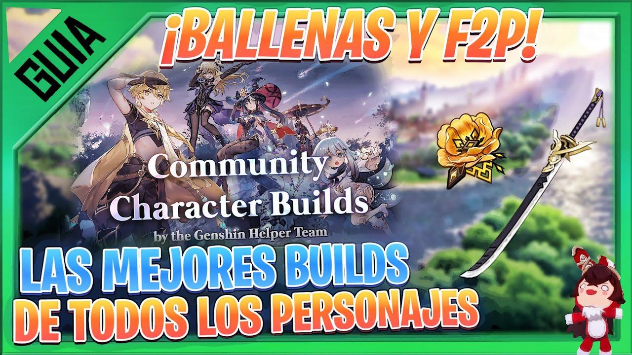 Pasate FACIL EL Abismo CON ESTAS BUILDS! GENSHIN IMPACT gameplay español | NEXER