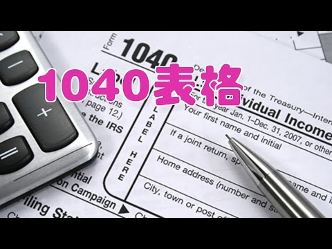个人报税如何填1040表格|报税指南/1040 form