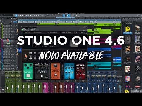 Studio One 4.6 NOW Available – Free Update!